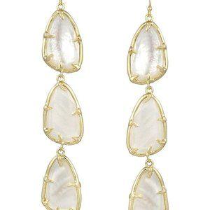 Kendra Scott Lillian Mother of Pearl Earrings